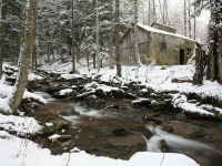 Sap House In Winter